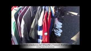SRU Vintage | 90s Fashion & Accessories @ Seattle's Fremont Sunday Market 2013