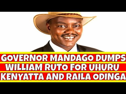 Governor Jackson Mandago Dumps William Ruto for Uhuru Kenyatta and Raila Odinga