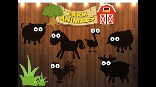 Wrong Wooden Slots | Skip to my lou  | Videos For Children Kids Learning