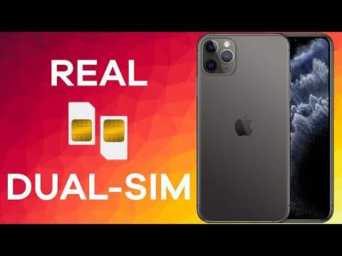 The Dual SIM IPhone - 11 Pro Max (How It Works)