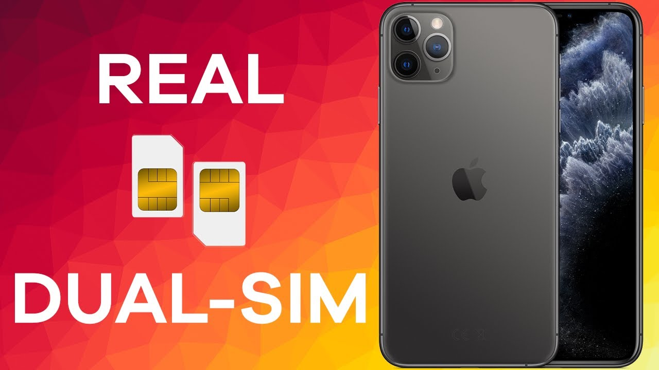 The Dual Sim Iphone 11 Pro Max A2220 How It Works Youtube