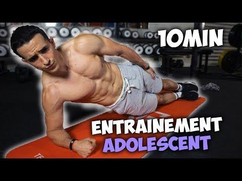 10min Sport Intense à La Maison ! (adolescent)