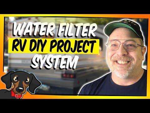 🔴 RV Water Filter System - Simple DIY - Adventures in RV Living #84