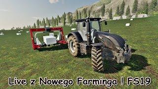 Farming Simulator 2019 ! Nowe Nabytki ! Rozwój Gospodarki ! Wynajem Maszyn - Na żywo