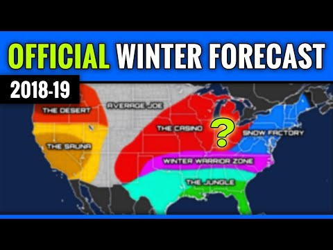 [OFFICIAL] Winter Forecast 2018-2019
