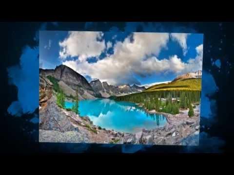 Moraine Lake Banff , Alberta Canada - Great Camping site