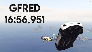 Gfred 16:56.951 (WR)
