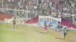 1er. Gol de Batistuta a Union (Boca 4-Union 0 08-03-91)