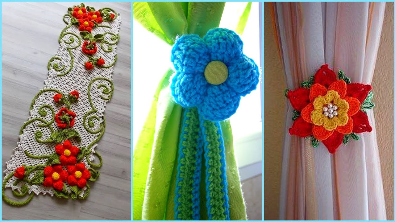 Home Decorations Ideas With Handmade Crochet Work Youtube