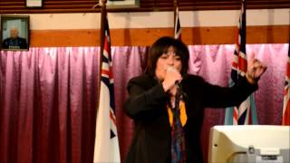Karaoke Semi Finals, Kaikohe RSA 21Sept2012 - Venus