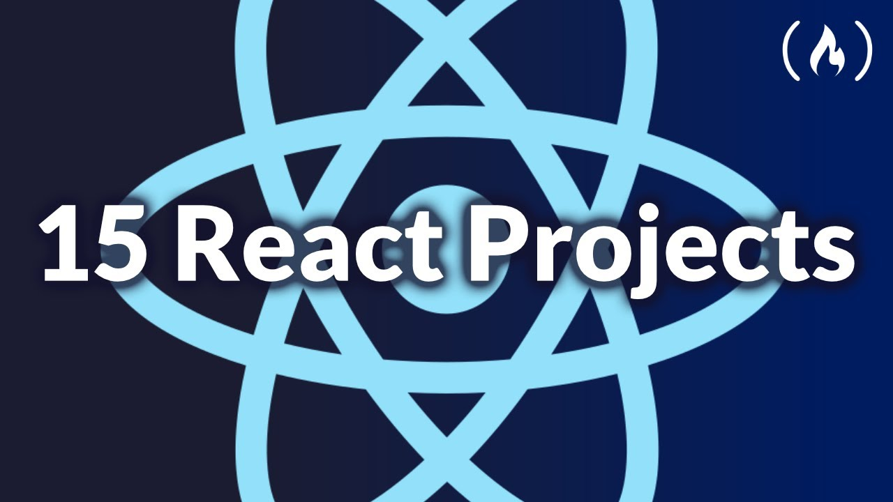 Code 15 React Projects - Complete Course