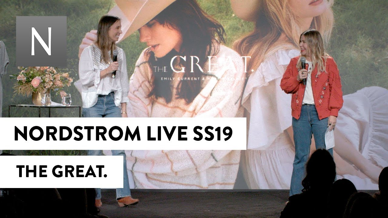 [VIDEO] - THE GREAT. | Nordstrom Live Spring 2019 1