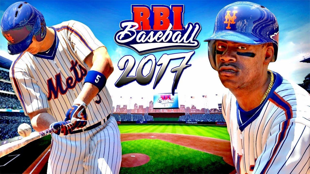 r b i baseball 17 ps4 homeruns u0026 stolen bases new york