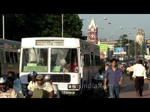 Busy streets of Chennai