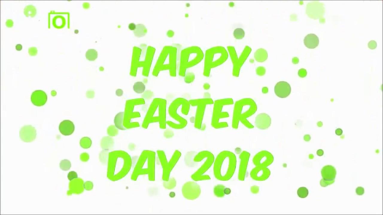 Happy Easter 2018animationwhatsapp Status Videomessagessms