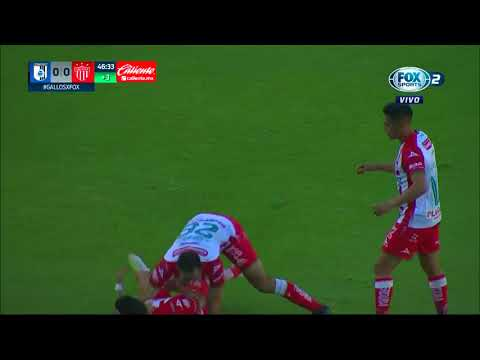 Gol de A. Zendejas   Querétaro 0 - 1 Necaxa   Liga MX - Guardianes 2020 - Jornada 15   LIGA BBVA MX