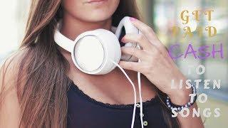 Get paid cash to listen to songs (2017 MusicXray Update)