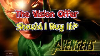 marvel contest of champions the vision offer