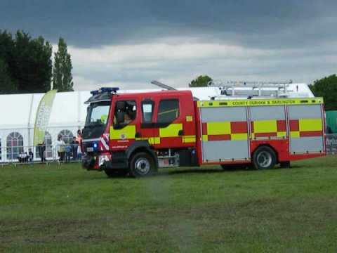 Preston Park fire engine rally, Stockton-on-Tees, 22/5/2016 - YouTube