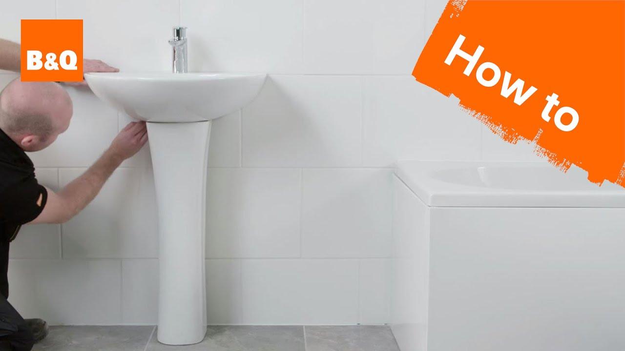 pedestal sink installation cost guide
