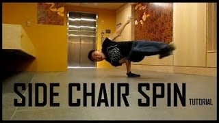 Side Chair Spin Tutorial