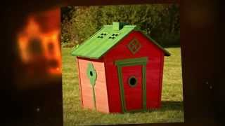 Wooden Kids Playhouse -- The Answer To Every Parent's Problem!