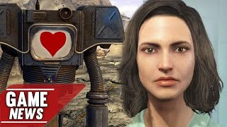 Heiße Roboter-Liebe in Fallout 4, Until Dawn, Silent Hills, Fallout Shelter - NEWS