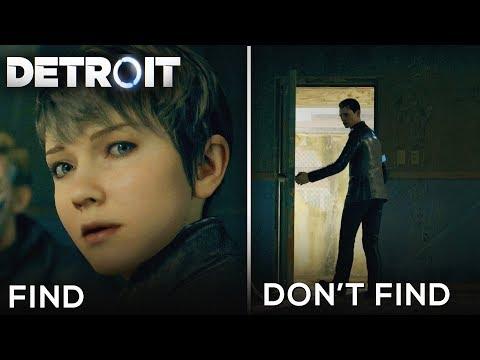 Find Kara vs Dont Find Kara (Good and Bad Consequences) - DETROIT BECOME HUMAN