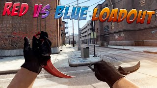 CS:GO - The Red N' Blue Loadout