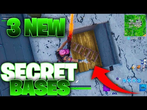 NEW SECRET BASES UNDER RETAIL ROW AND PLEASANT PARK (New Underground Bunkers)