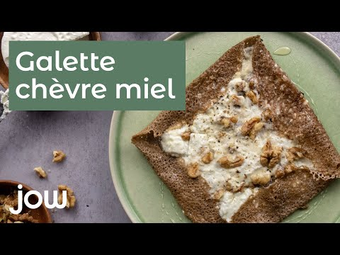 recette-de-la-galette-chèvre-miel