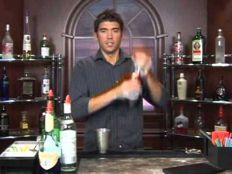 How to Make the Blue Tango Vodka Drink