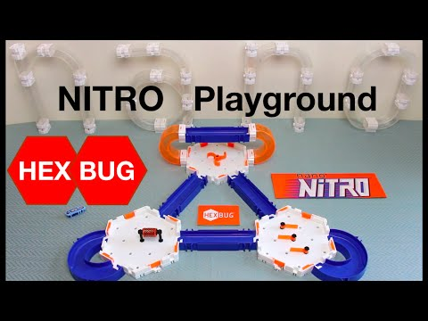 HexBug Nano Nitro Playground Habitat Set - Detailed Play Test Review