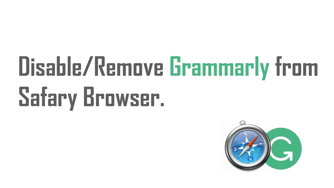 how to delete grammarly from safari