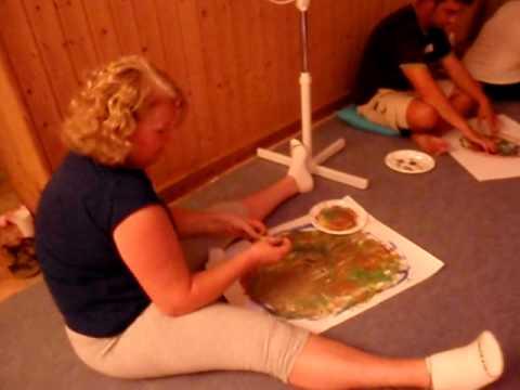 Taller de Arteterapia en mirArTe. Pintando mandalas