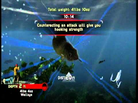 Rapala Pro Bass Fishing Xbox30 Tournament 1 Walleye Triumph.mpg