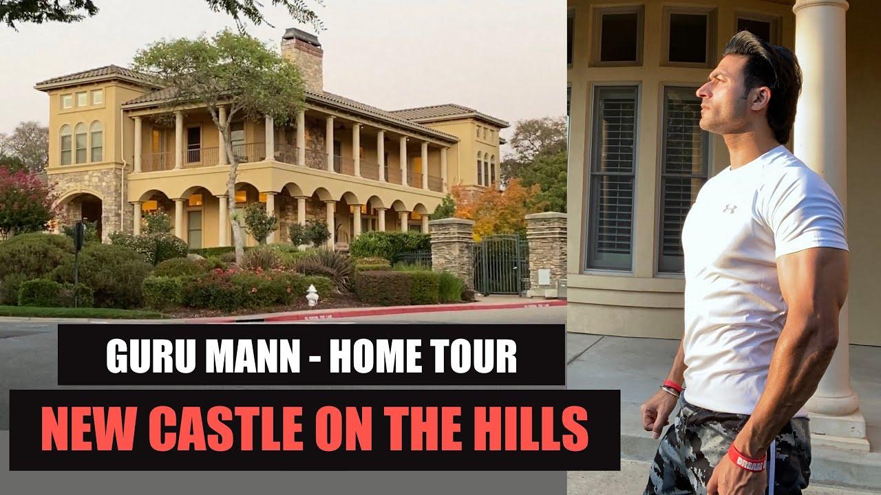 New CASTLE on the Hills - Guru Mann House Tour (VLOG)