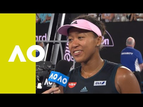 Naomi Osaka on-court interview (SF) | Australian Open 2019