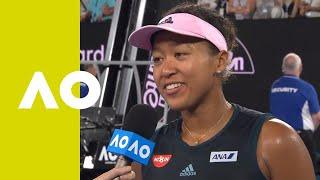 Naomi Osaka on-court interview (SF) | Australian Open 2019