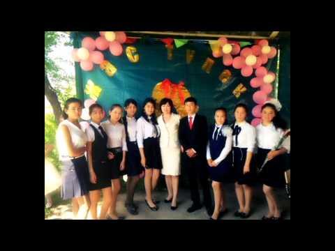 Slide in Kazakhstan about school