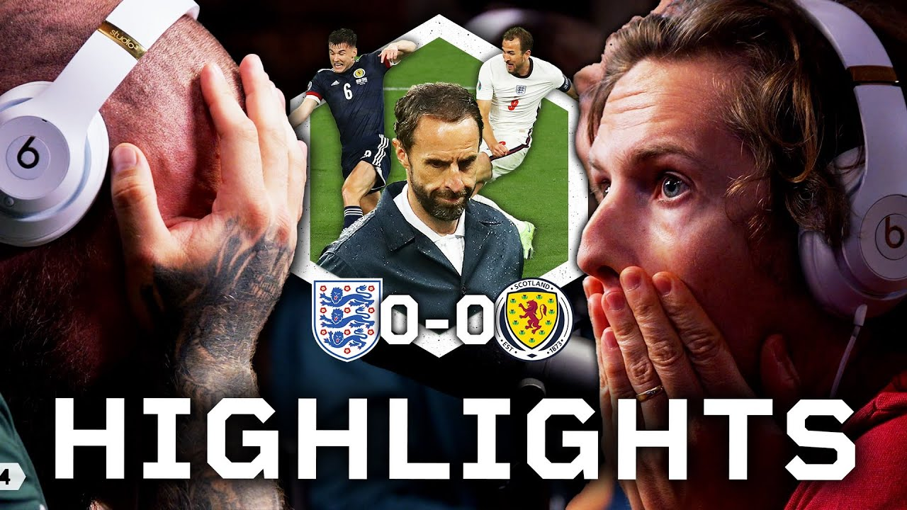 Southgate Is EMBARRASSING England | England 0-0 Scotland Highlights