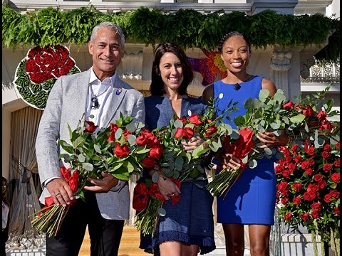 Tournament of Roses 2017 Grand Marshal Announcement - Janet Evans, Allyson Felix and Greg Louganis