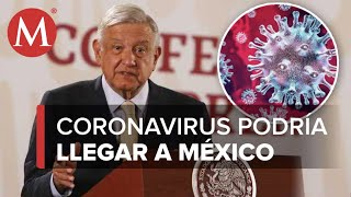 AMLO alerta sobre posible caso de coronavirus en Tamaulipas