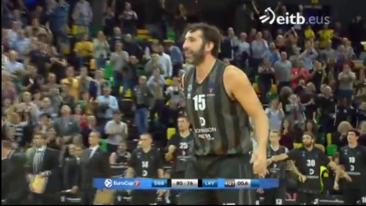 Los brutales últimos segundos de ERIC con el Bilbao Basket - YouTube