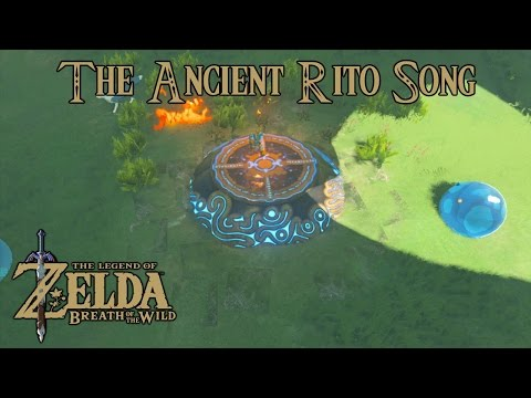 Zelda Breath Of The Wild Playthrough: The Ancient Rito Song, Bareeda Naag Shrine (All Chests)