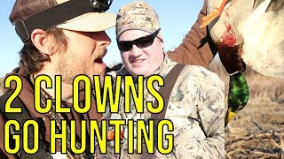 Two Clowns Go Duck Hunting On Public Land
