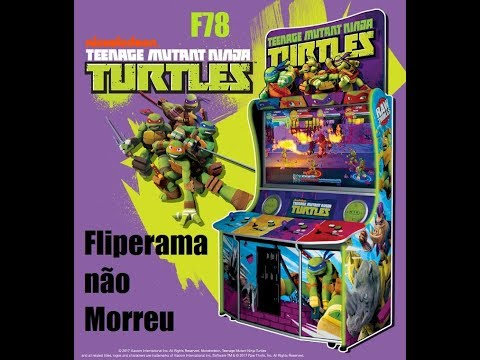 Repeat TMNT Arcade Game by Raw Thrills Nickelodeon