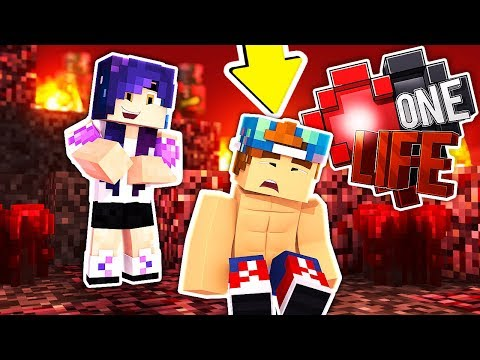 RISKING IT ALL IN THE NETHER WITH LAURENZSIDE! | One Life #2