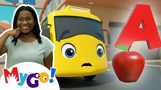 ABC Phonics Song   MyGo! Sign Language For Kids   Go Buster   ASL