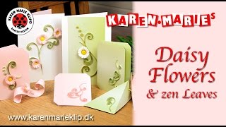 Daisy 3D Paper Quilling Flower